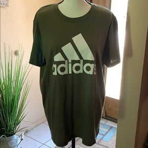 adidas Shirts - Adidas Go To T-Shirt Olive Green
